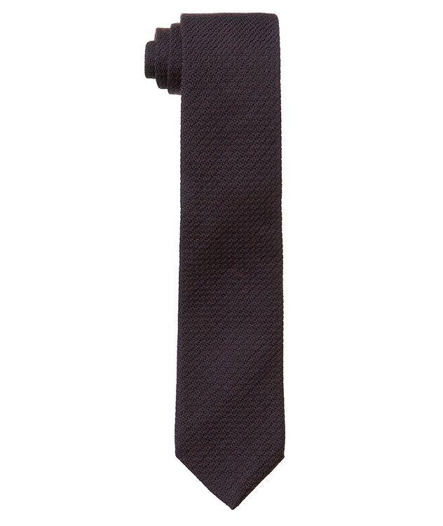 Woven Wool-Silk Tie picture 1