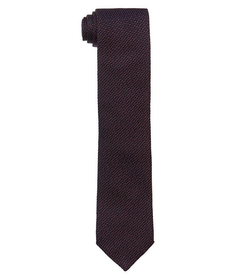 Woven Silk Tie image 0