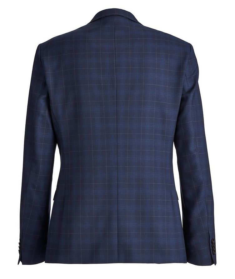 Slim-Fit S.Jules Checked Wool-Blend Suit image 1