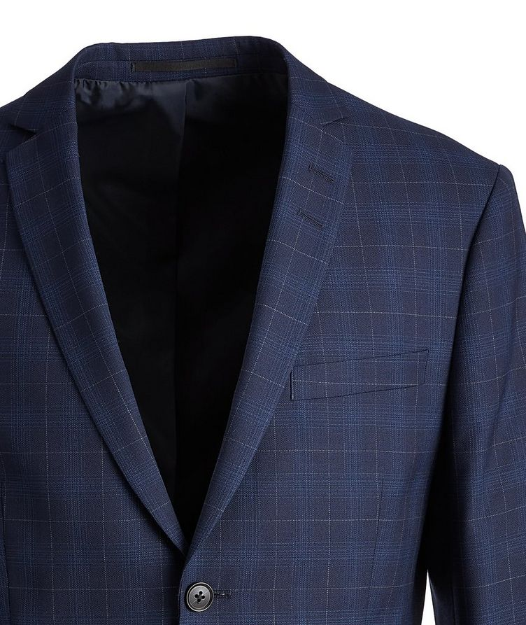 Slim-Fit S.Jules Checked Wool-Blend Suit image 2