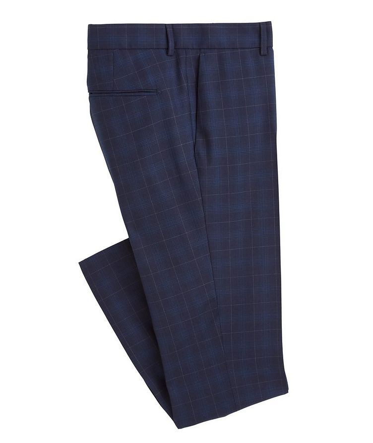 Slim-Fit S.Jules Checked Wool-Blend Suit image 3