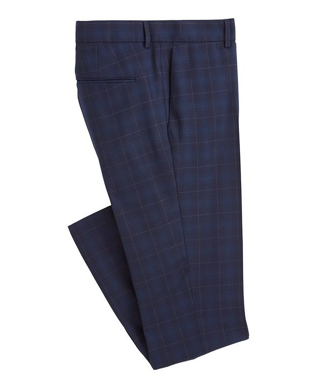 Slim-Fit S.Jules Checked Wool-Blend Suit picture 4