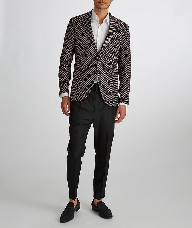 Thomas Wool-Mohair Twill Dress Pants picture 5