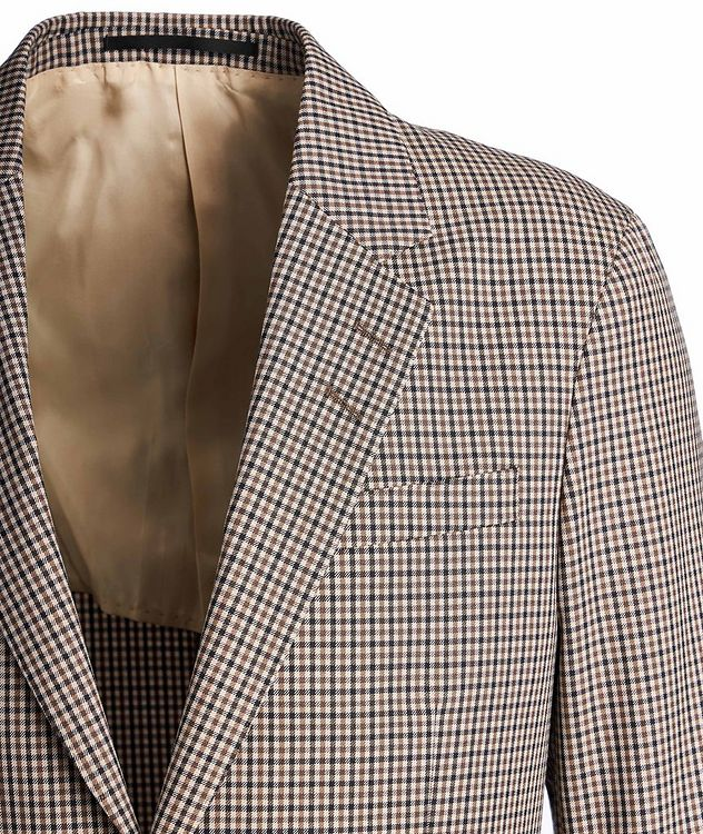 Josef Gingham Sports Jacket picture 3