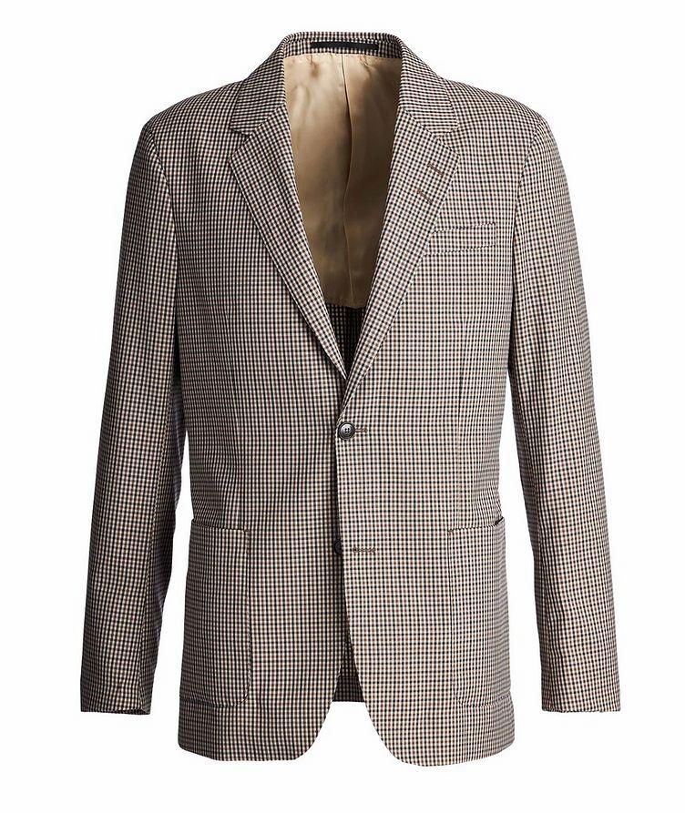 Josef Gingham Sports Jacket image 0