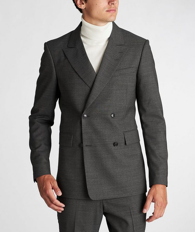 Double-Breasted Wool Sports Jacket image 1