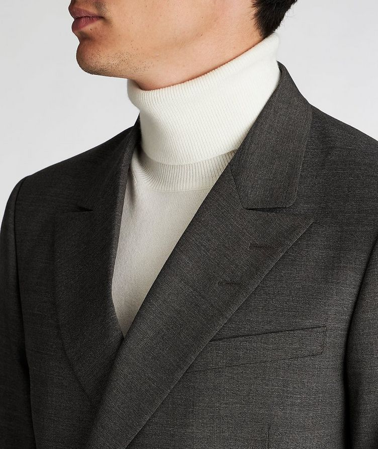 Double-Breasted Wool Sports Jacket image 3