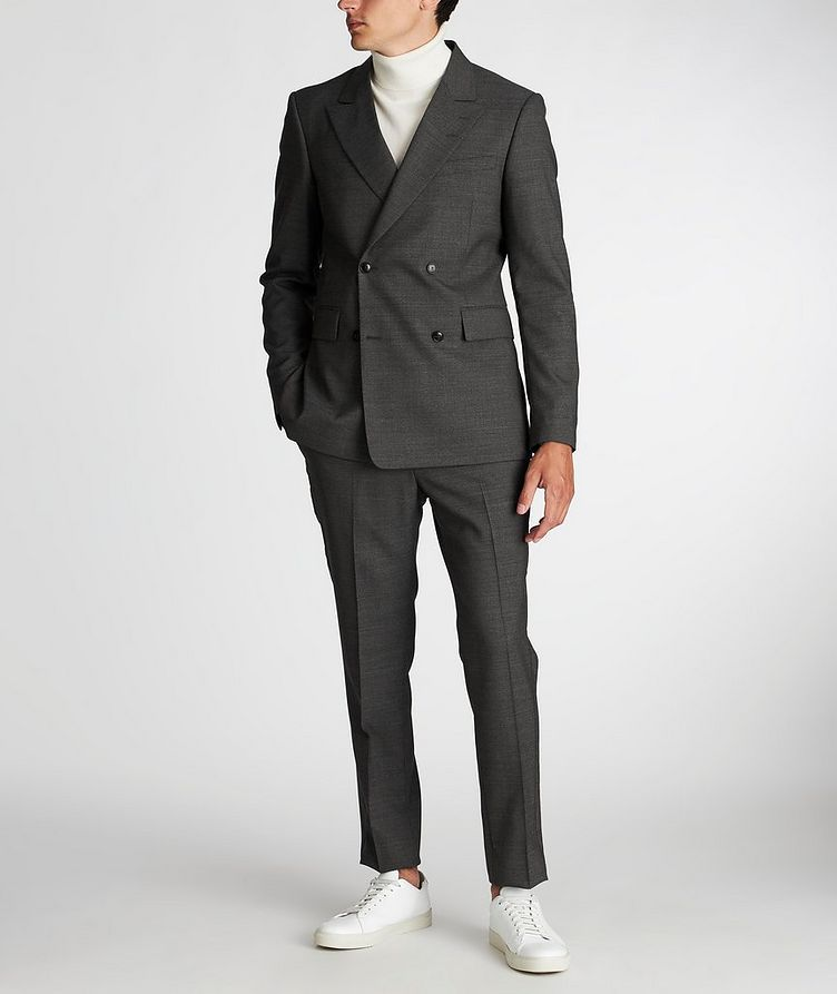 Double-Breasted Wool Sports Jacket image 4