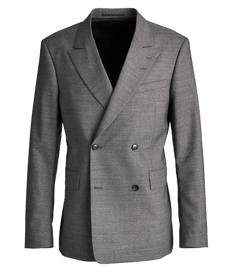 Double-Breasted Wool Sports Jacket image 0