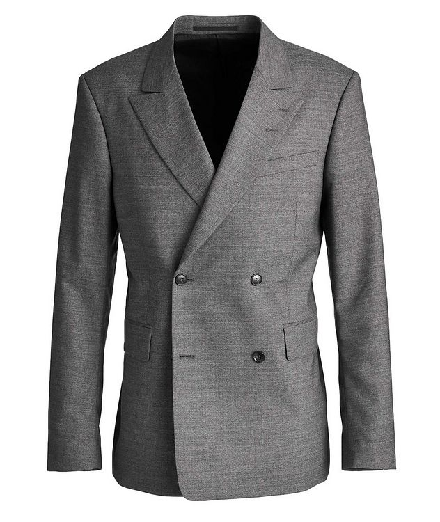 Double-Breasted Wool Sports Jacket picture 1