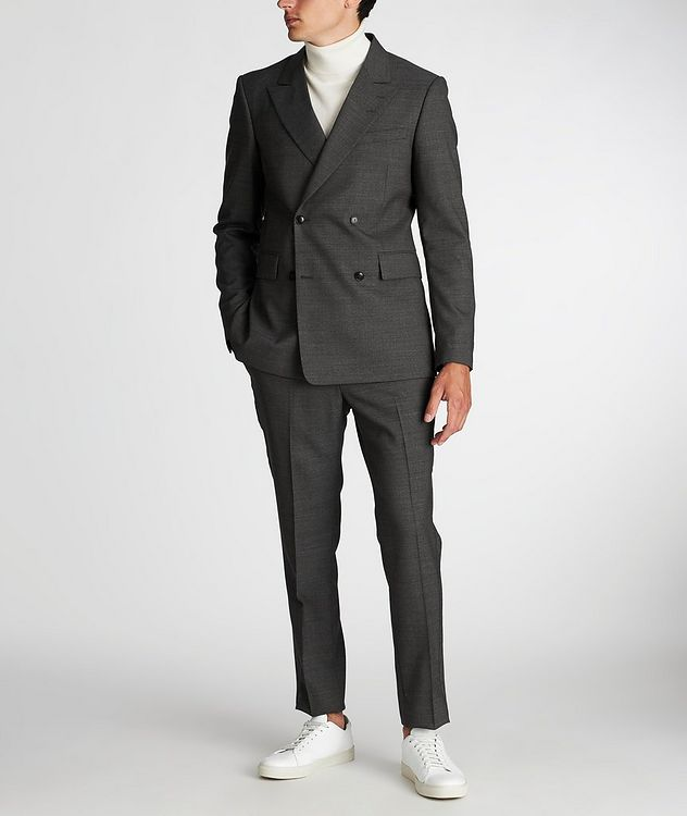 Slim Fit Wool Dress Pants picture 6