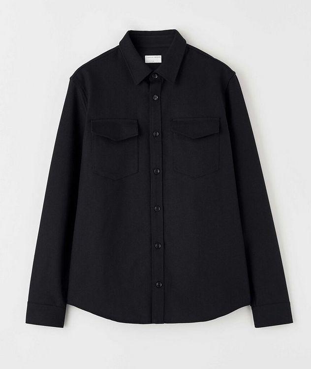 Herringbone Cotton Shirt Jacket picture 1