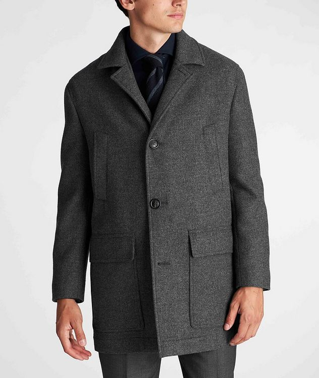 Virgin Wool Peacoat picture 2