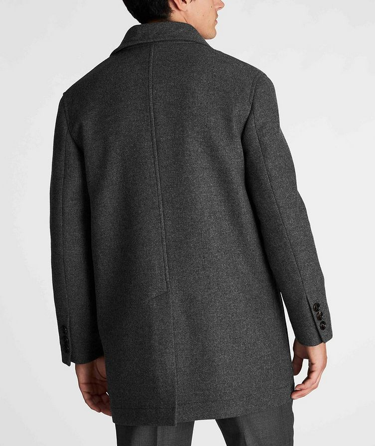 Virgin Wool Peacoat image 2