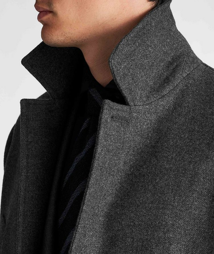 Virgin Wool Peacoat image 3