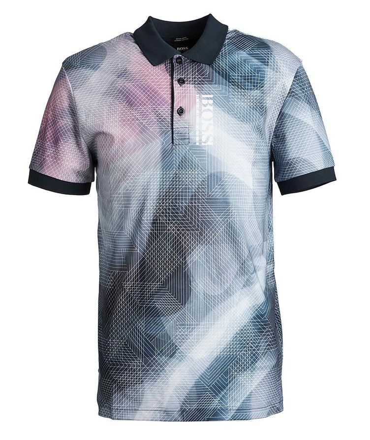 Printed Cotton-Jersey Polo image 0