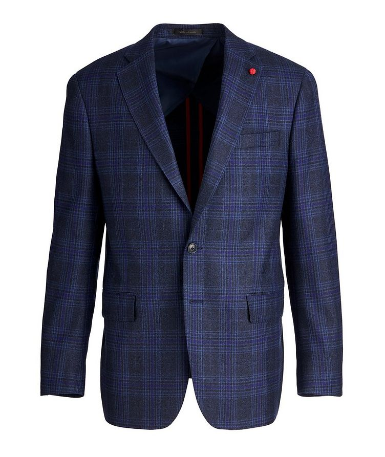 Checked Wool Sports Jacket image 0