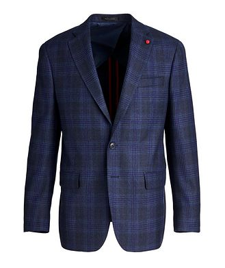 TAILORED Checked Wool Sports Jacket