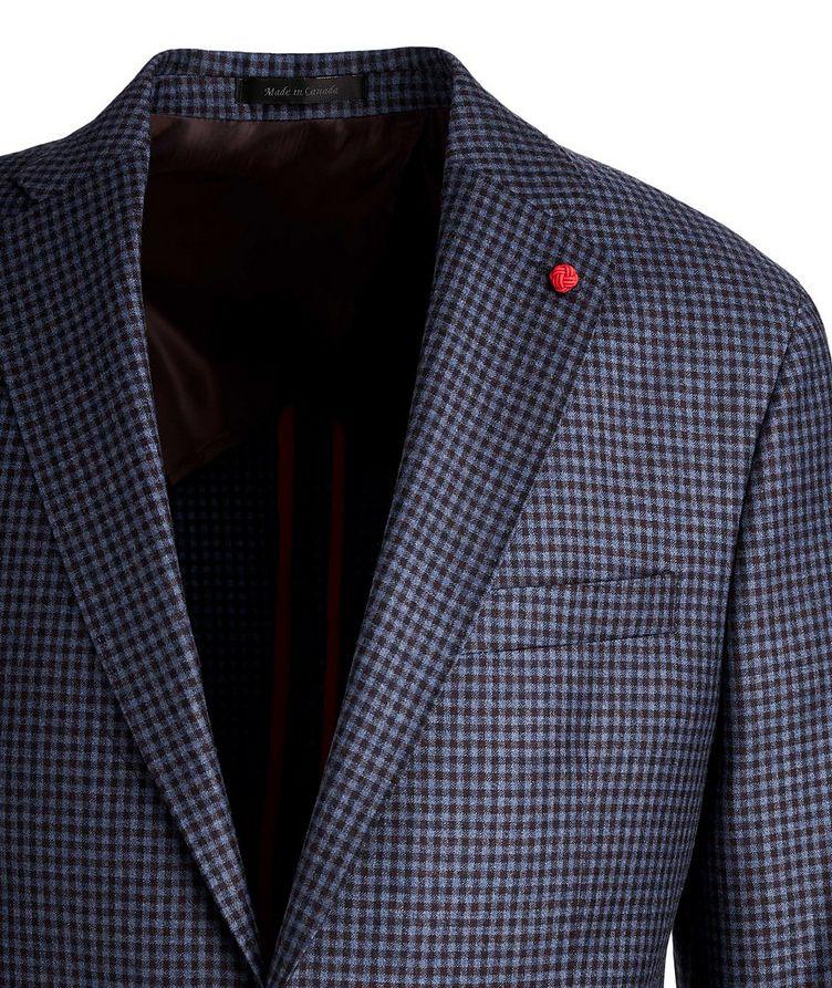 Gingham Wool Sports Jacket image 1