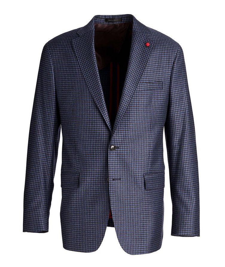 Gingham Wool Sports Jacket image 0