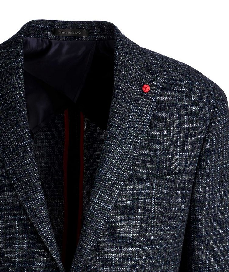 Tweed Wool-Silk Sports Jacket image 1