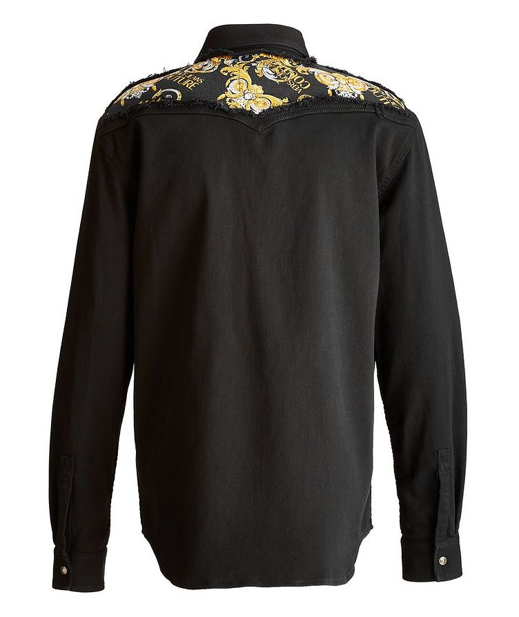 Baroque Stretch Cotton Western Shirt image 1