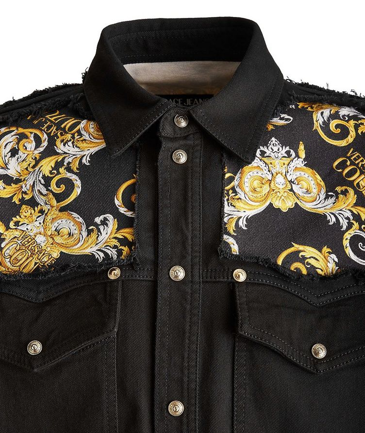 Baroque Stretch Cotton Western Shirt image 2