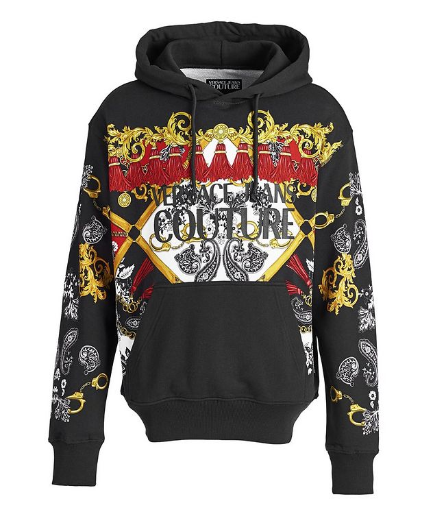 Baroque-Printed Hoodie picture 1