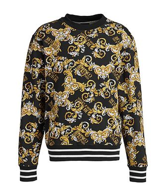 Versace Jeans Couture Baroque-Printed Sweatshirt