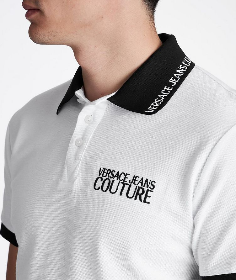 Cotton Piqué Polo image 5