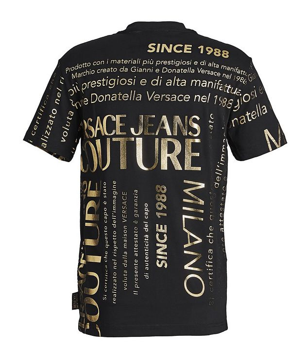 Text-Printed Cotton T-Shirt picture 2