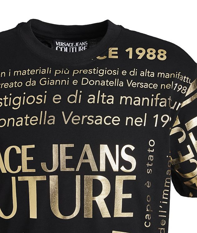 Text-Printed Cotton T-Shirt picture 3