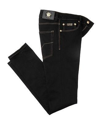 Versace Jeans Couture London Icon Skinny Jeans