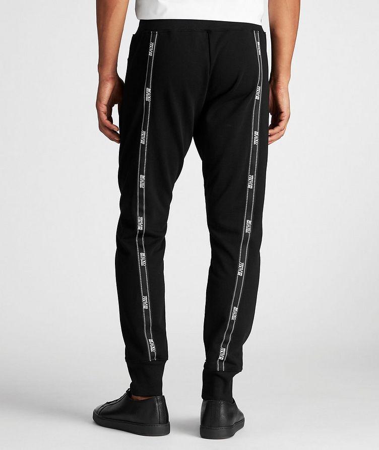 Pantalon sport avec logos et à cordon image 2