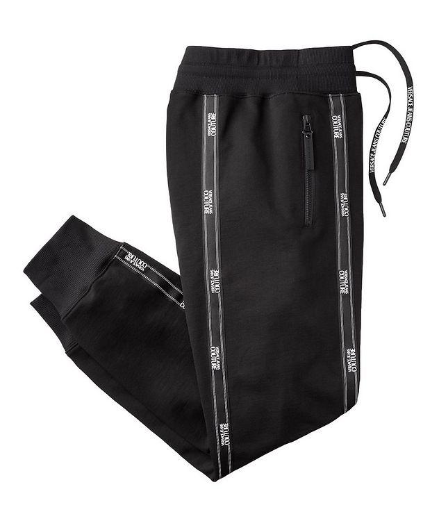 Pantalon sport avec logos et à cordon picture 1