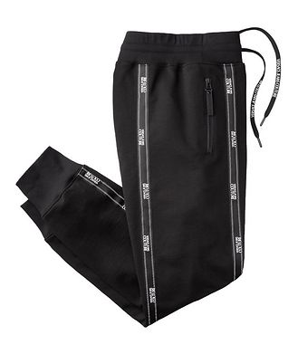 Versace Jeans Couture Pantalon sport avec logos et à cordon