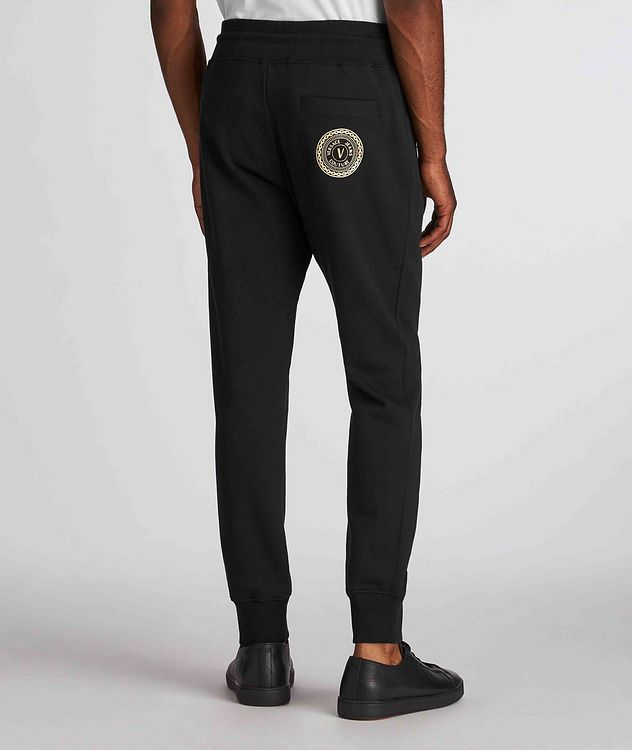 Drawstring Cotton Joggers picture 3