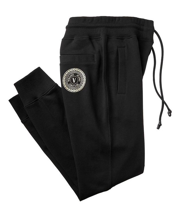 Drawstring Cotton Joggers picture 1