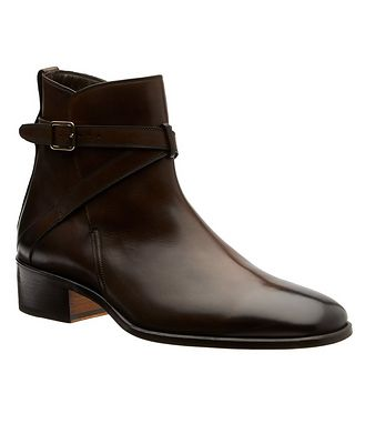 Tom Ford Burnished Jodpur Boots