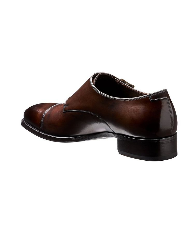 Leather Double Monkstraps  image 1