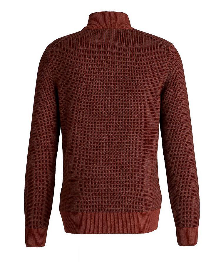 Baker Quarter-Zip Baby Cashmere Sweater image 1