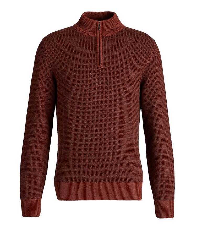 Baker Quarter-Zip Baby Cashmere Sweater image 0