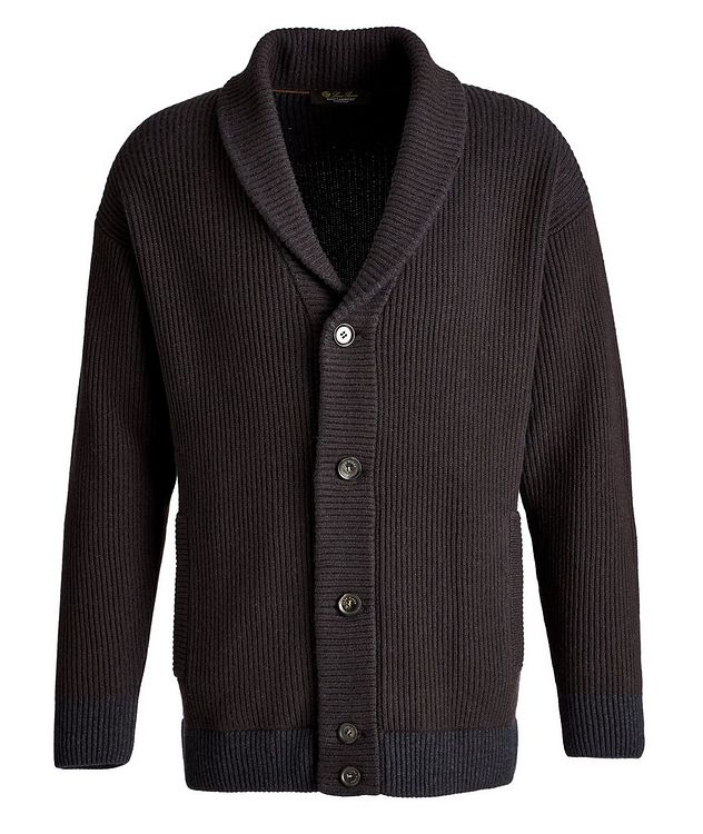 Gateway Shawl Collar Ribbed Cardigan picture 1