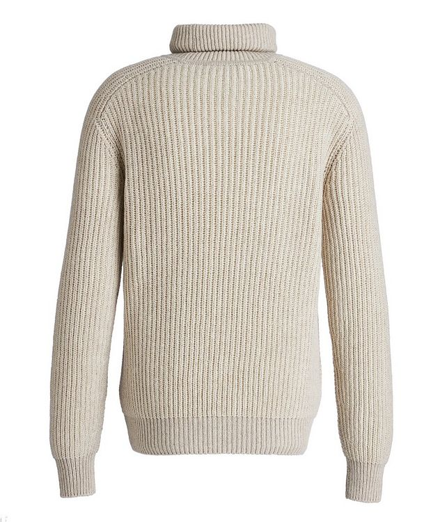 Treccia Knit Cashmere Turtleneck picture 2