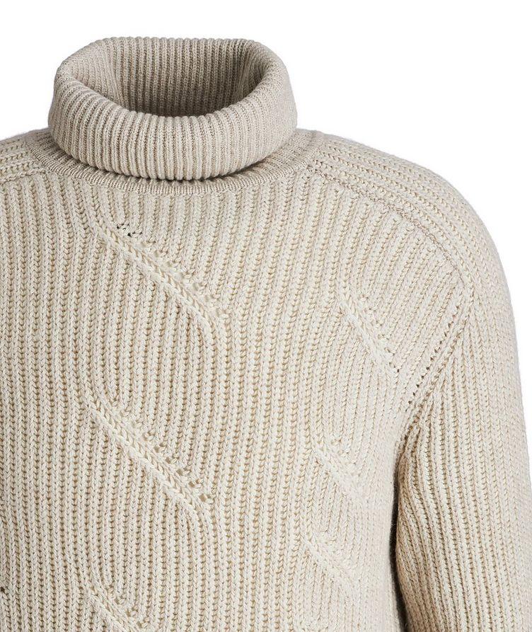 Treccia Knit Cashmere Turtleneck image 2