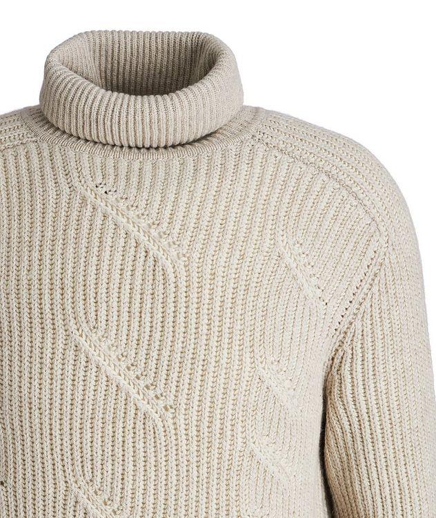Treccia Knit Cashmere Turtleneck picture 3