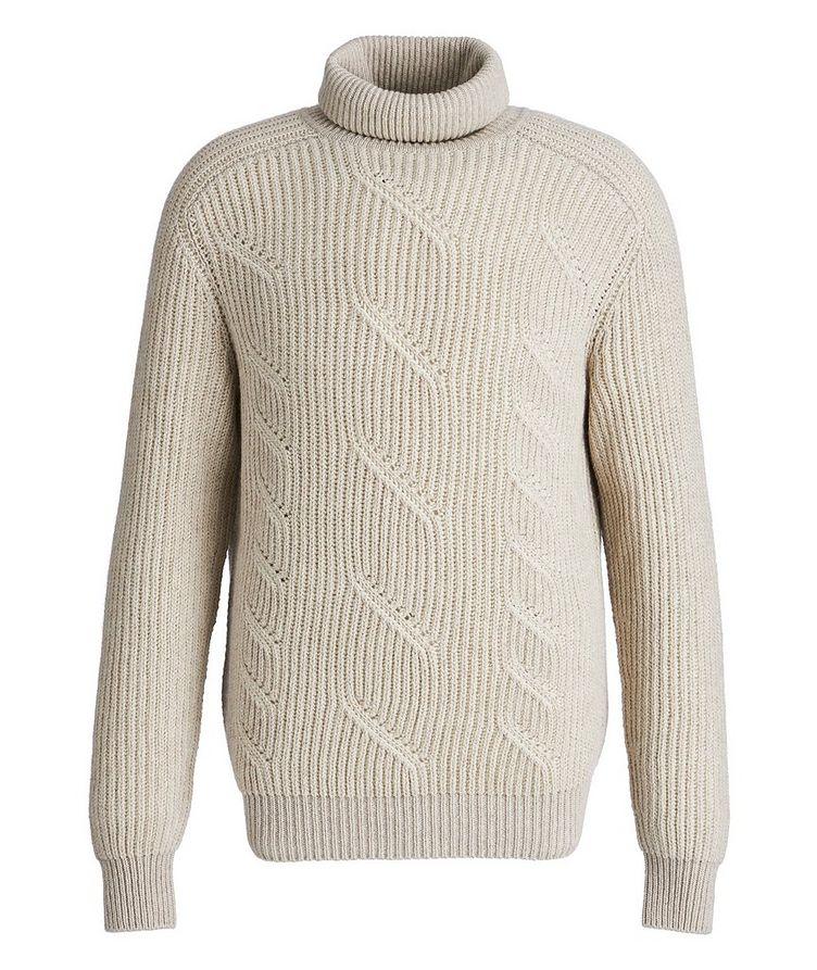 Treccia Knit Cashmere Turtleneck image 0