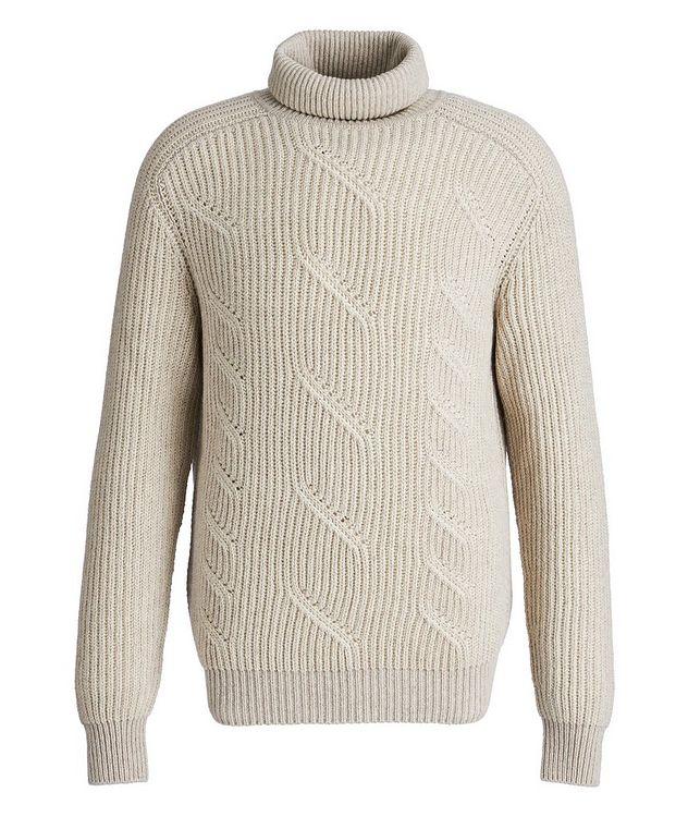 Treccia Knit Cashmere Turtleneck picture 1