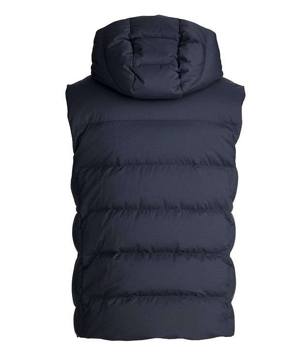Fillmore Green Storm System Hooded Down Vest picture 2