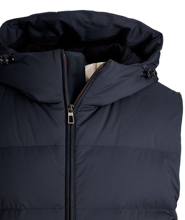 Fillmore Green Storm System Hooded Down Vest picture 3